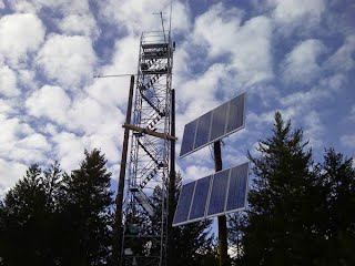 Island Park Instrumentation Towers